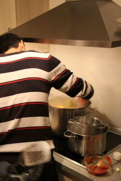 (Foto: WLL/Welpelo) Es dampft wieder in der Küche und riecht super!