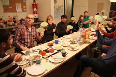 (Foto: WLL/Welpelo) Lecker! 10 Punkte für das Küchenteam!