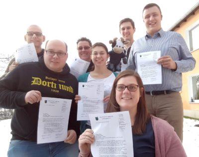(Foto: WLL/Berkhoff) Die Teilnehmer_innen unserer Präventionsschulung