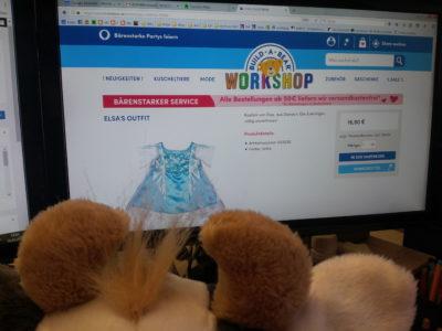 (Bild: WLL) Wilma sucht ihr Balloutfit