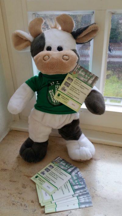 (Foto: WLL/Engberding) Wima hat ihre Eintrittskarte zum Jubiball