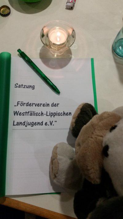 (Bild: WLL/Reinl) Wilma bei der Gründnungsversammlung des Fördervereins