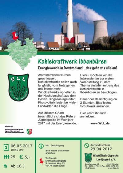 (Bild WLL) Besichtigung Kraftwerk Ibbenbüren