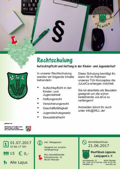 (Bild: WLL) WLL-Rechtschulung
