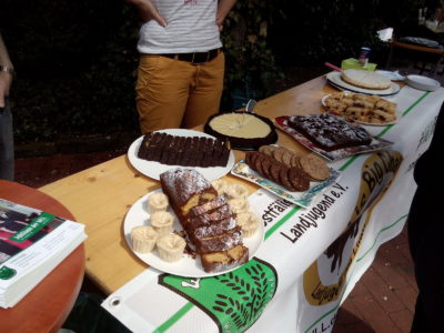 (Bild: WLL/Weber) Kuchen für #WiLLisBigChallenge in Münster