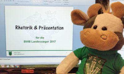 (Foto: WLL/Engberding) Rhetorik-Schulung für BWB-Teilnehmer_innen