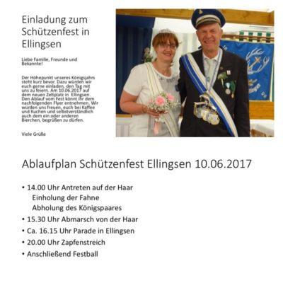 Schützenfest in Ellingsen