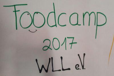 (Bild: WLL/Neudeck) Foodcamp 2017