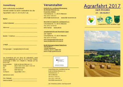 Agrarfahrt 1