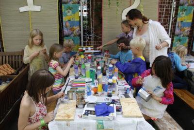 (Bild: WLL/Trepte) Foodcamp, Bericht der Kinder