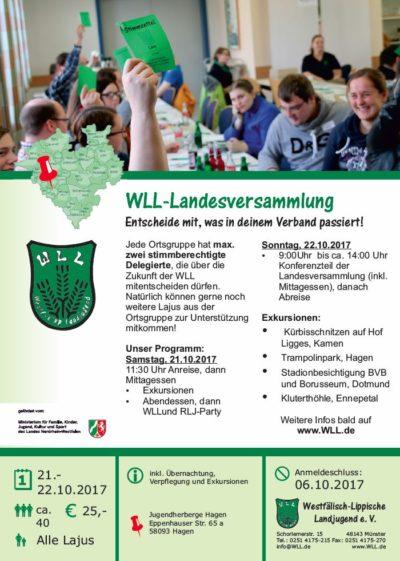 (Bild: WLL) WLL-Landesversammlung 2017