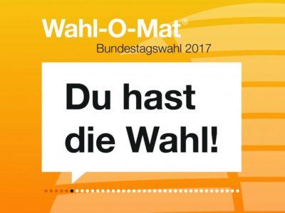 (Foto: Bundeszentrale für politische Bildung) Wahl-O-Mat zur Bundestagswahl 2017