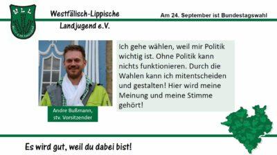 (Bild: WLL) 2017 Bundestagswahl Andre Bußmann
