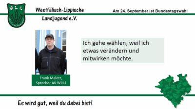 (Bild: WLL) 2017 Bundestagswahl Frank Maletz