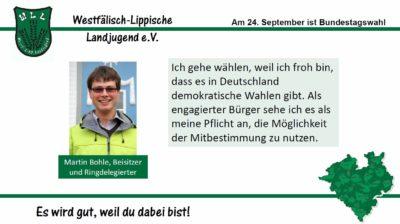 (Bild: WLL) 2017 Bundestagswahl Martin Bohle