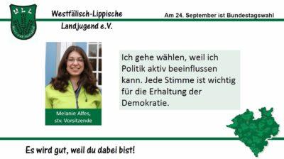 (Bild: WLL) 2017 Bundestagswahl Melanie Alfes