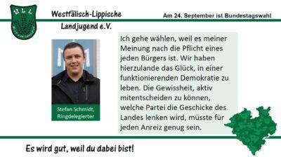 (Bild: WLL) 2017 Bundestagswahl Stefan Schmidt