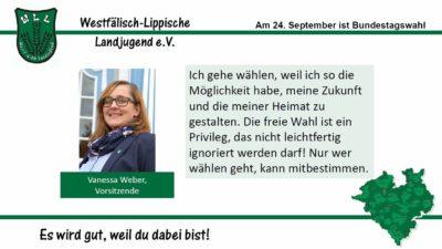 (Bild: WLL) 2017 Bundestagswahl Vanessa Weber