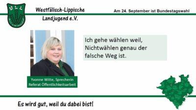 (Bild: WLL) 2017 Bundestagswahl Yvonne Witte