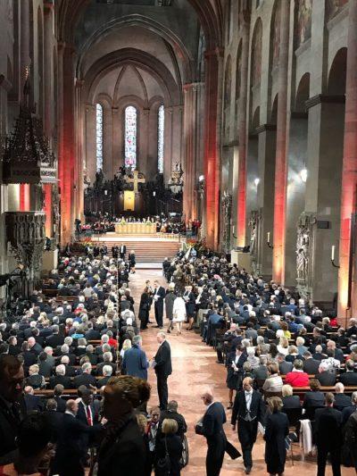 (Foto: WLL/Weber) Ökumenischer Gottesdienst im Hohen Dom zu Mainz