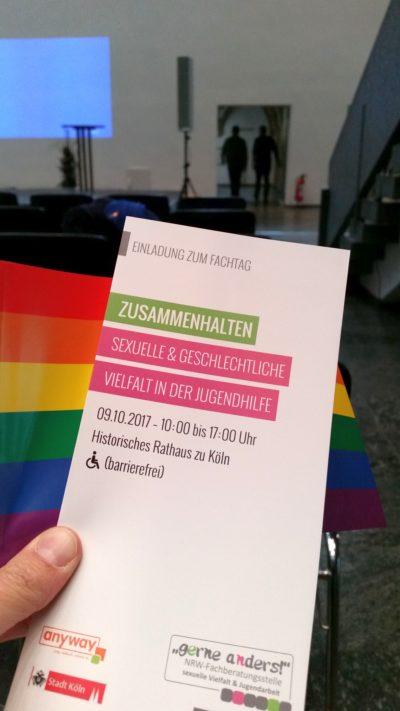 """(Foto: WLL/Reinl) Fachtag """"Zusammenhalten - sexuelle & geschlechtliche Vielfalt in der Jugendhilfe"""""""