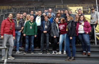 (Foto: WLL/Weber) Am ersten Tag ging es u.a. zum BVB ins Stadion