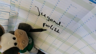 (Foto WLL/Reinl) Wilma beim Referat Jugendpolitik