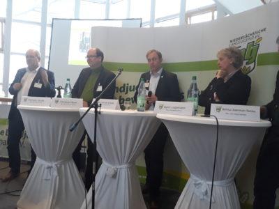 (Foto: WLL/Schmidt) Agrar-Forum auf der Landesversammlung der NLJ
