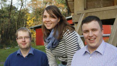 (Foto: WLL/Welpelo) Geschäftsführender Vorstand der WLL: Franziska Trepte, Stefan Schmidt (rechts), Frank Maletz (links)