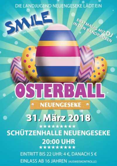 (Flyer: LJ Neuengeseke) Osterball Neuengeseke 2018