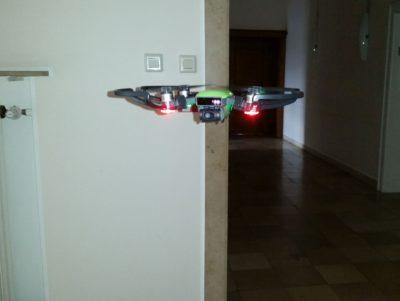 (Foto: WLL/Engberding) Unsere WLL-Drohne