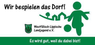 (Bild: WLL) Logo - Wir bespielen das Dorf