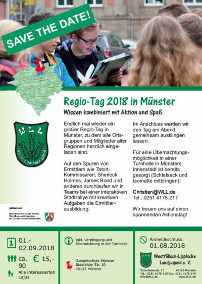 (Bild: WLL) Regio-Tag 2018, save the date!