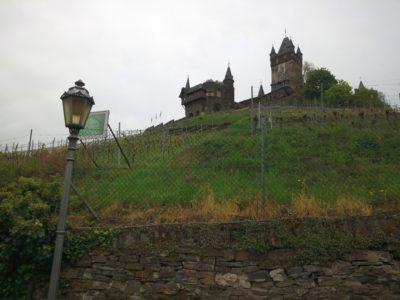 (Foto: WLL/Trepte) Unterhalb der Reichsburg in Cochem