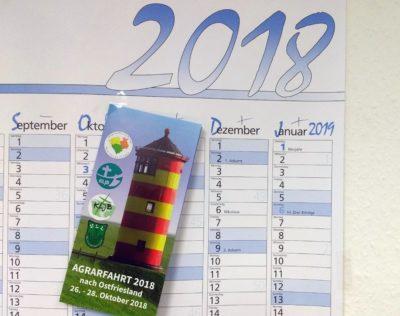 (Foto: WLL/Welpelo) Agrarfahrt vom 26.-28.10.2018 nach Ostfriesland