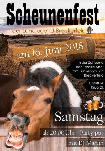 (Bild: LJ Breckerfeld) Scheunenfest LJ Breckerfeld