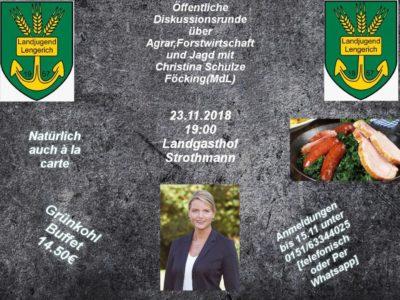 (Bild: LJ Lengerich) Öffentliche Diskussionsrunde der LJ Lengerich
