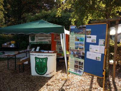 (Foto: WLL/Trepte) Die WLL beim Tierparkfest in Recklinghausen