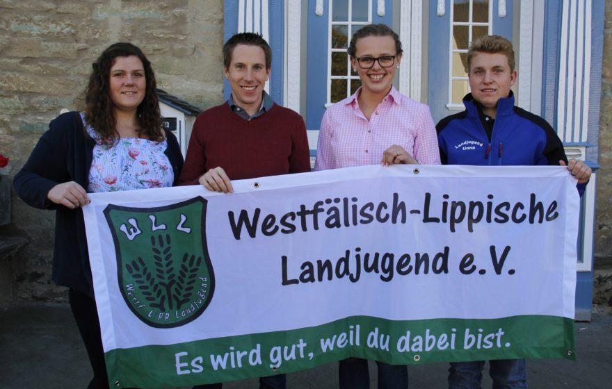 v.l.n.r.: Sarah Berkhoff, Andreas Weber, Anna-Sophie Ritterswürden, Stephan Eder (Foto: WLL/Hoffmann)