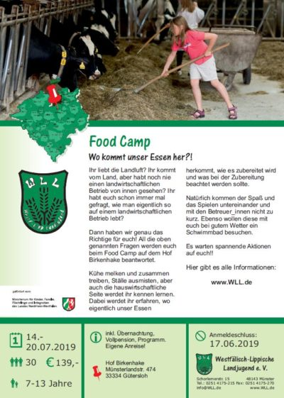 (Bild: WLL) 2019 Food Camp
