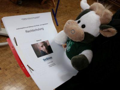 (Foto: WLL/Engberding) Rechtschulung