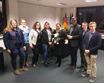 (Foto: WLL/Reinl) WLL trifft Landwirtschaftsministerin Ursula Heinen-Esser