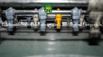 (Bild: LJ Lengerich) Menschenkicker-Turnier LJ Lengerich