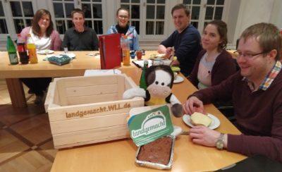 """Gestärkt durch den BDL-Kuchen tagte am Mittwoch der WLL-AK """"#landemacht"""" (Foto: WLL/Welpelo)"""