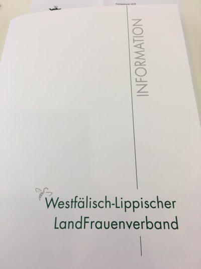(Foto: WLL/Schmidt) Die WLL bei der WLLV-Landesvertretung
