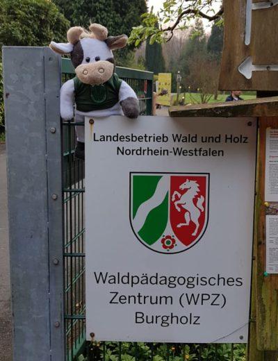 (Foto: WLL/Weber) Wilma und die WLL drückt allen Teilnehmer_innen des BWB heute die Daumen!