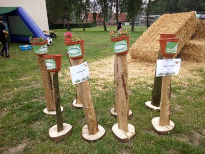 (Foto: WLL/Trepte) Die Landjugend Loxten präsentiert Nisthilfen-Aktion vor Ort, 26.05.2019