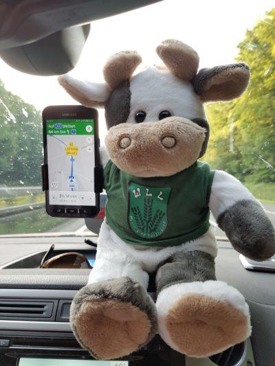 (Foto: WLL/Weber) Auf dem Weg zum Deutschen Bauerntag