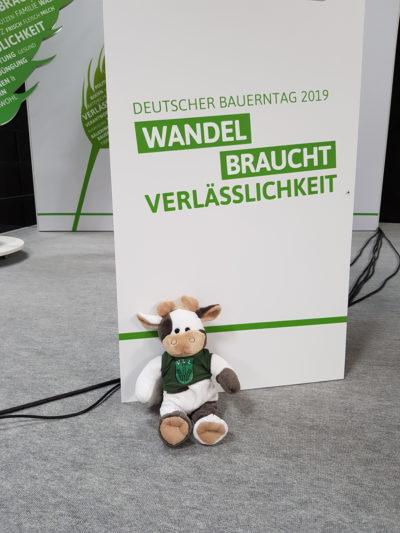 (Foto: WLL/Weber) Wilma beim Deutschen Bauerntag