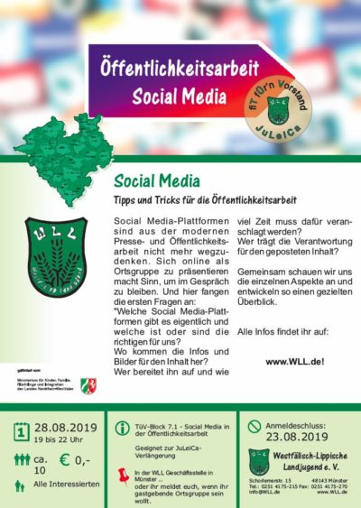 (Bild: WLL) TüV Block 7.1 Social Media